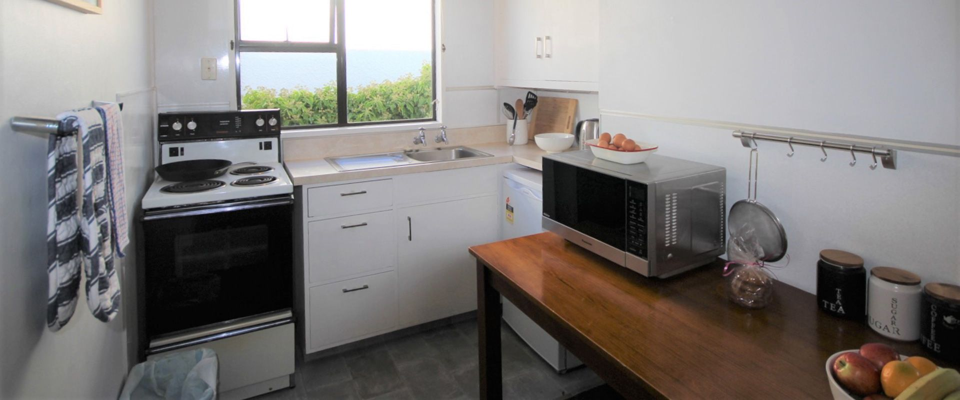 large 2-bedroom unit kitchen facilities