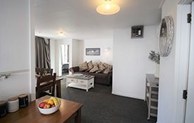large 2-bedroom family unit