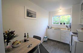 large studio unit kitchen