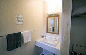 large studio unit bathroom