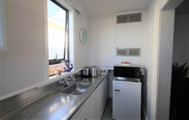 3-bedroom family unit kitchen