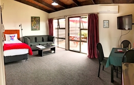 spacious 1-bedroom unit which can sleep 3 guests
