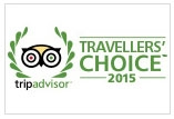 won tripadvisor travellers' choice 2015 award