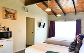 premium studio with double beds