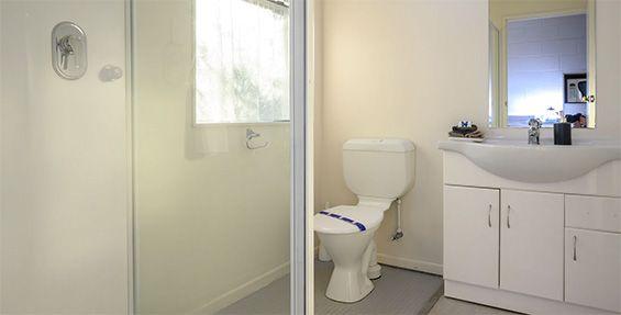 executive studio bathroom