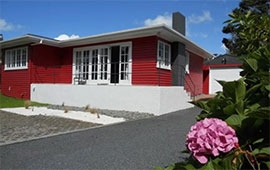 Palm House at Averill Court Motel, Paihia, New Zealand