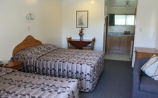 large studio unit which can accommodate up to 3 people