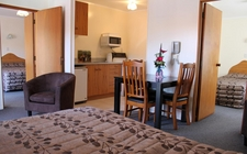 large 2 bedroom units which can sleep up to 7 guests