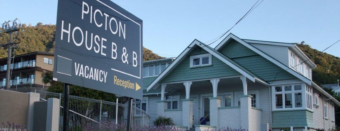 heritage accommodation in Picton