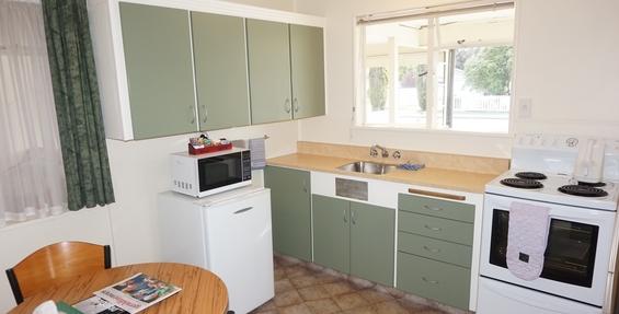 basic studio unit kitchen