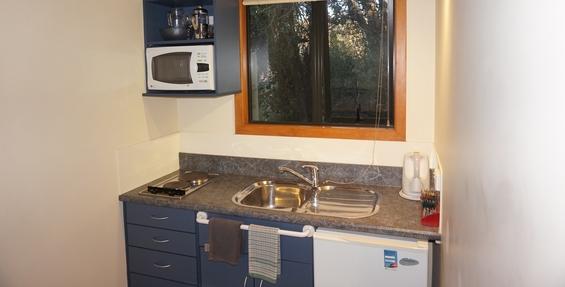 accessible superior studio unit kitchenette