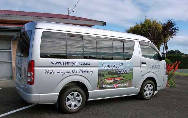 free shuttle service available for guests