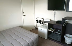 bedroom of Twin Share Unit