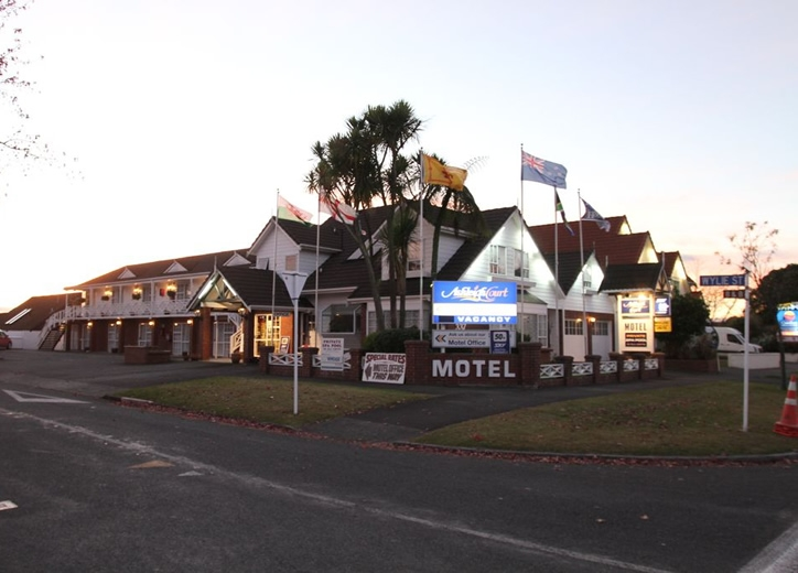 centrally located motel close to the city