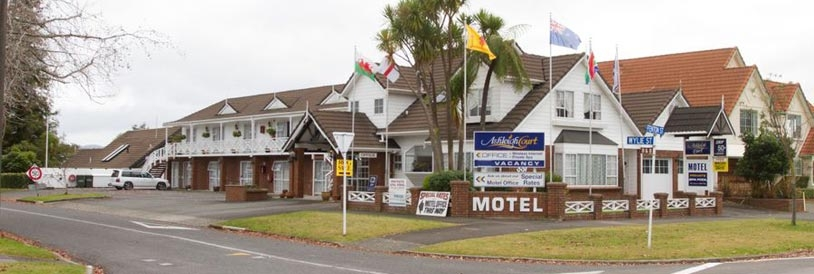 Image of the Ashleigh Court Rotorua Motel