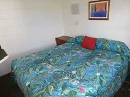 this motel unit is suitable for 3 or 4 persons