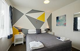 1-bedroom apartment (4 adults) single beds