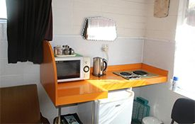 Triple studio kitchenette