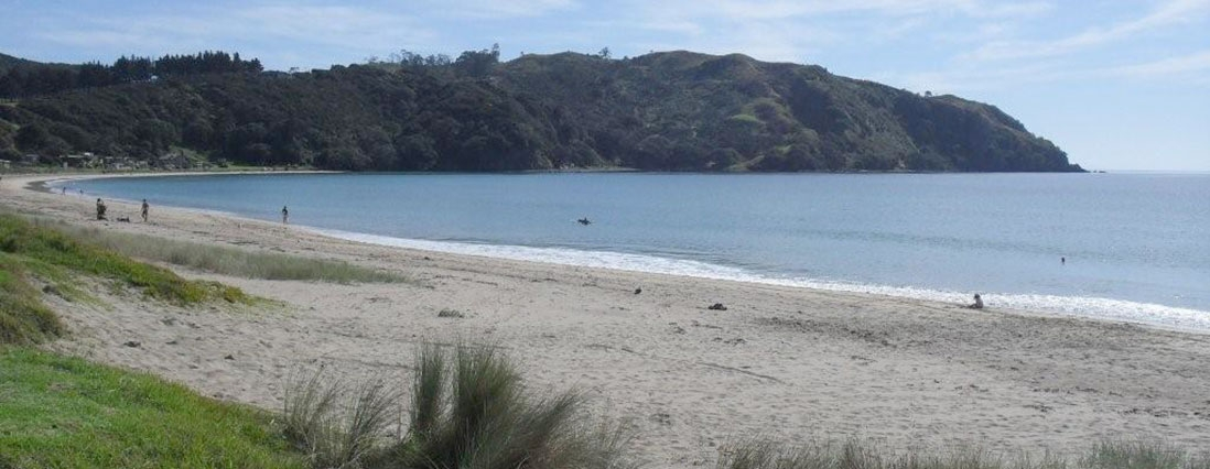 beautiful beach of Taupo Bay