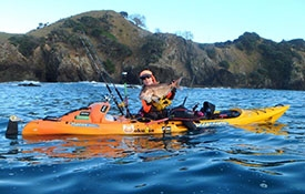 explore the bay with a sea kayak