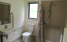private bathroom of 2-bedroom unit