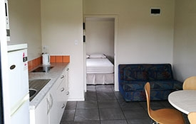 full kitchen facilities available in kitchen cabins