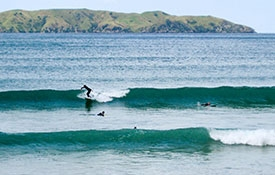 Northland surfing