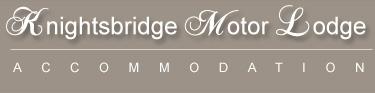 Knightsbridge Motor Lodge : Accommodation