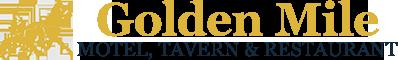 Golden Mile Motel, Tavern & Restaurant Logo