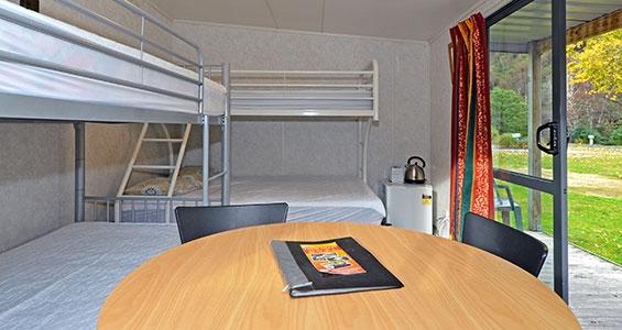 large cabin bunks