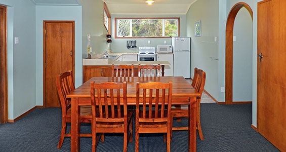 upstairs apartment kitchen and dining
