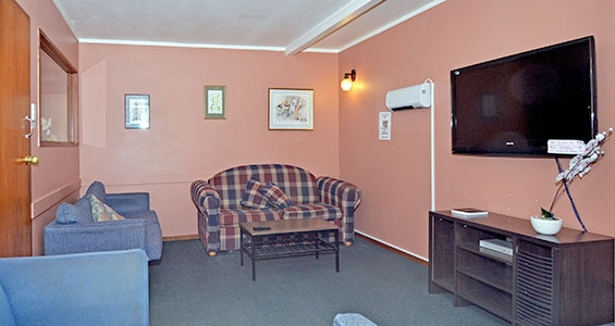 powered sites camp tv room