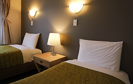 comfortable single beds
