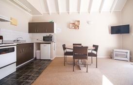 kitchen of 2-bedroom unit