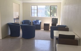 Communal TV room