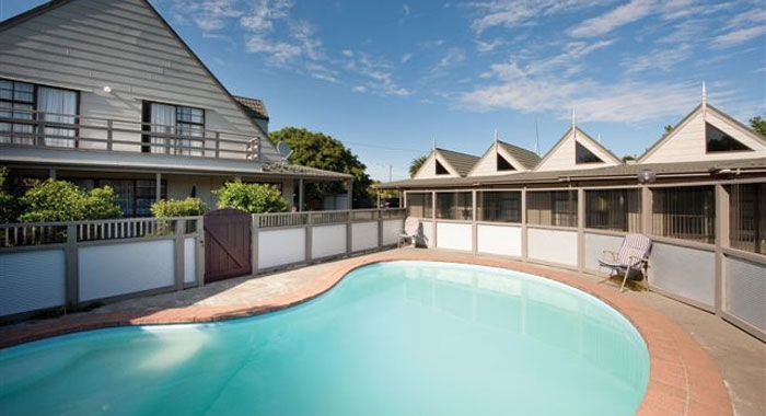 large swimming pool on-site
