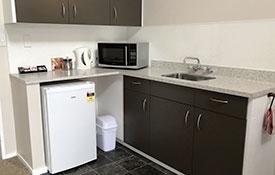 kitchen in 1-Bedroom unit