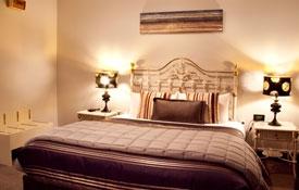 luxurious honeymoon suite