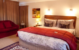 king or queen size bed in studio rooms