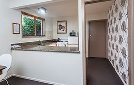 full kitchen facilities available in the room