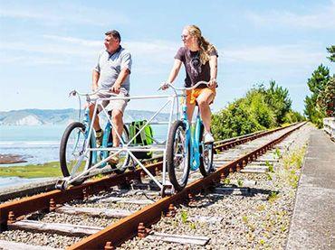 The Gisborne Railbike Adventure