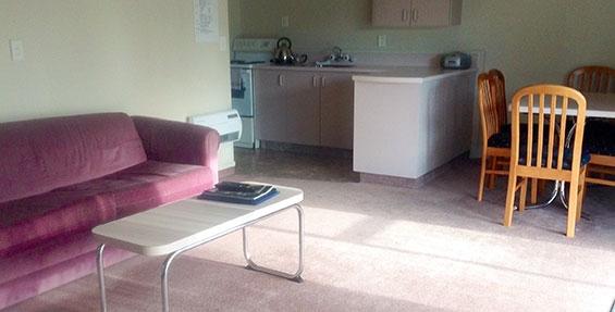 2-bedroom motel unit