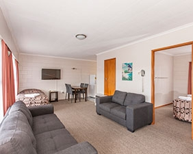 large two-bedroom unit at Kensington Motel