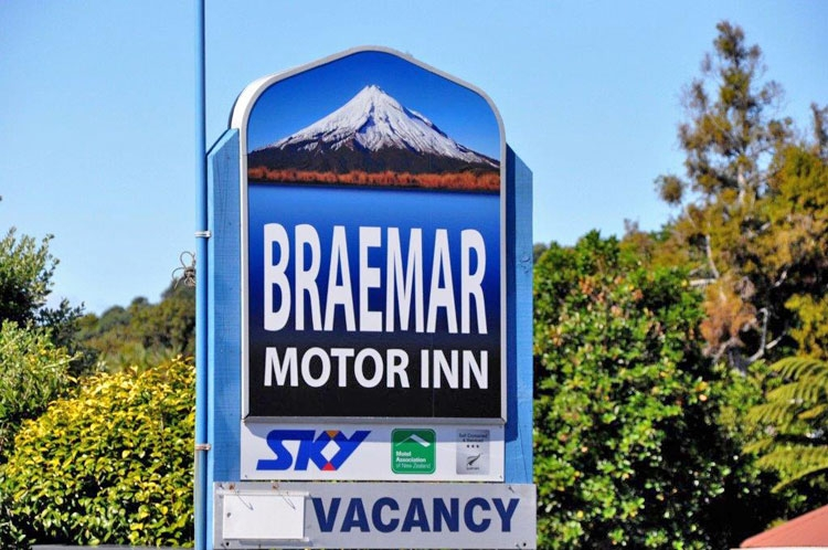 Braemar Motor Inn New Plymouth