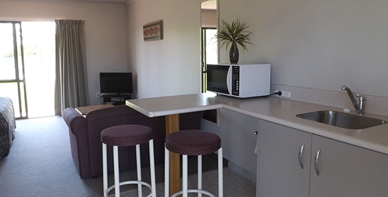 kitchenette available in studio room