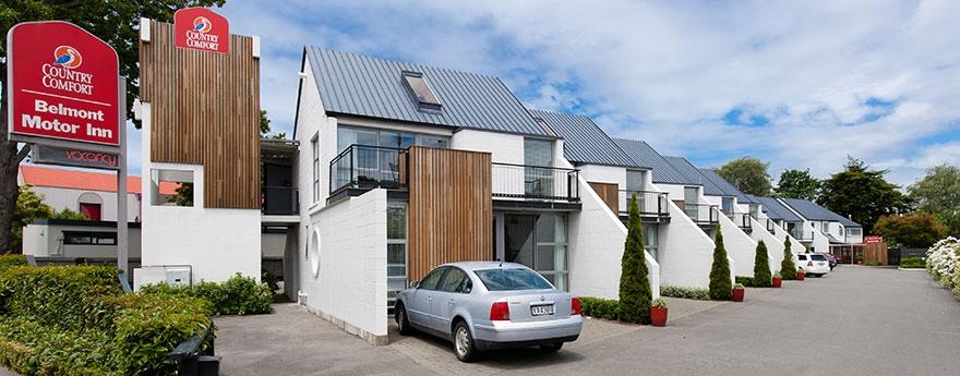 professional designed Christchurch city accommodation
