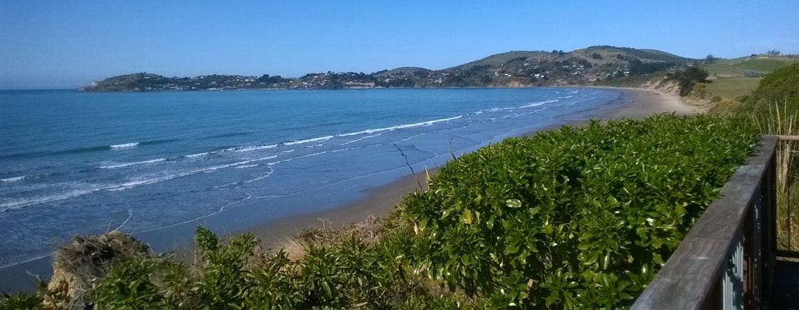 beautiful beaches of Otago