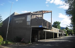 Hanmer Springs Larchwood Motel Location