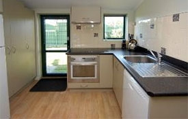 full kitchen facilities available in 2-bedroom unit including oven