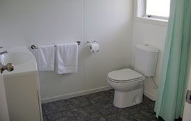 bathroom of new studio unit